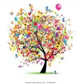 Une naissance, un arbre