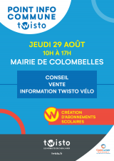 Bus info twisto 29 août 2019