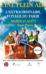 Ciné Plein Air L'extraordinaire voyage du fakir