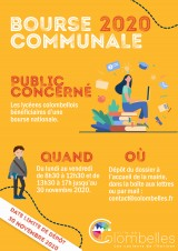 Bourse communale 2020-2021