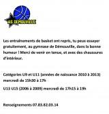Basket reprise des entraînements à l'AS Démouville