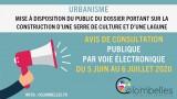 AVIS DE CONSULTATION PUBLIQUE SUR LA CONSTRUCTION D'UNE SERRE DE CULTURE ET D'UN
