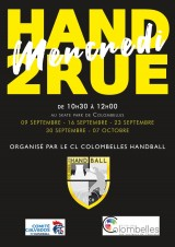 Hand 2 rue - ateliers d'initiation septembre octobre 2020