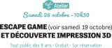Atelier : Escape game