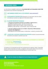 RÉUNION PUBLIQUE - PROJET D'EXTENSION DE LA STATION D'ÉPURATION DU NOUVEAU MONDE