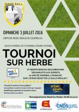 Handball : Tournoi sur herbe